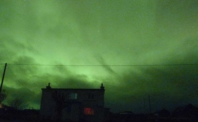 Mothering Sunday aurora